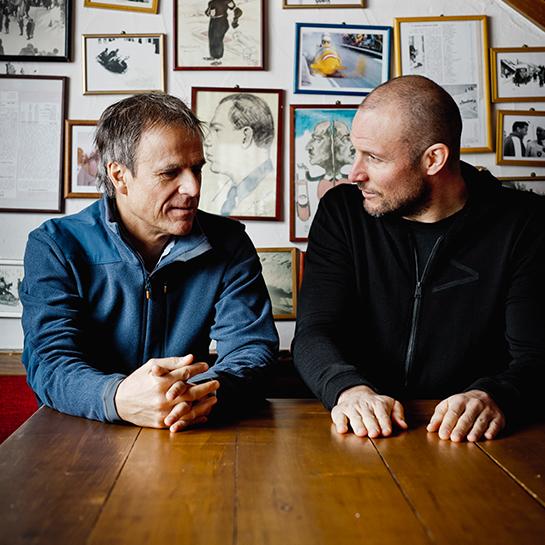 Michael Mauer & Aksel Lund Svindal